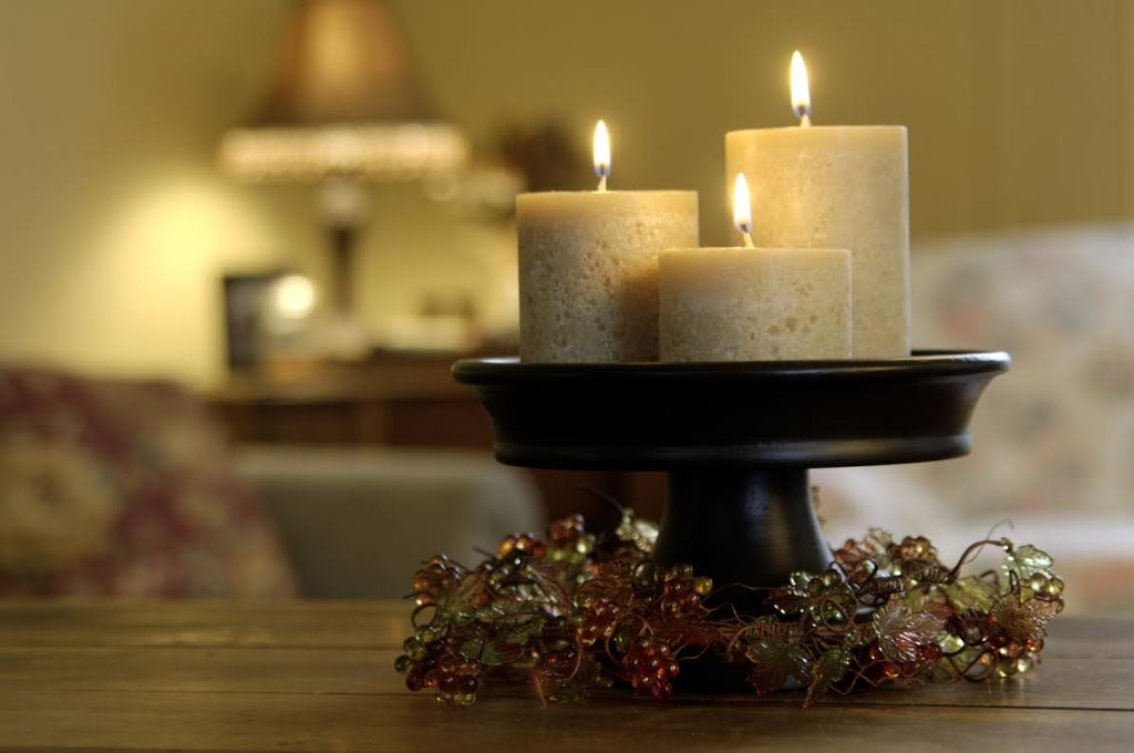 Decorative Fall candles