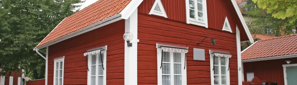 Red swedish house.