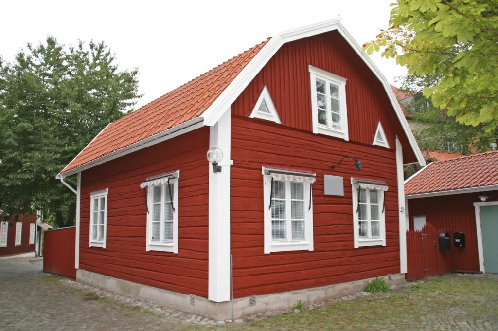 Red swedish house.
